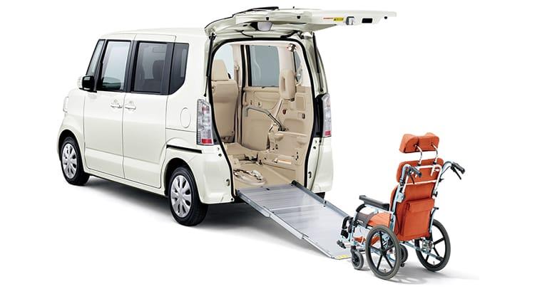 N-BOX+(車いす仕様車)