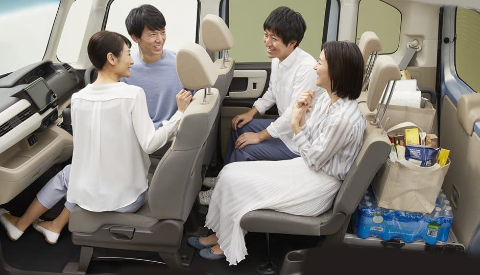4人乗車モード