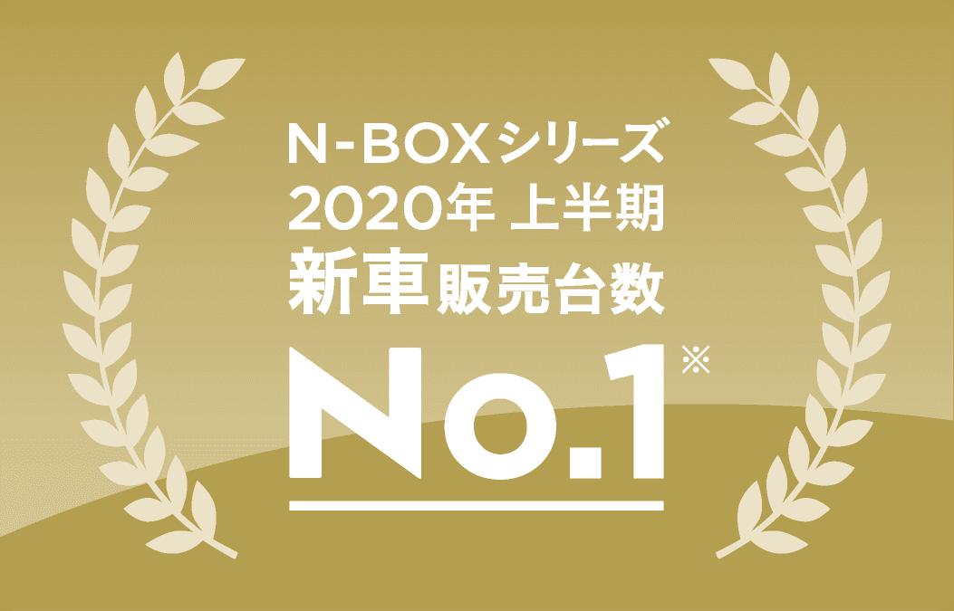 N-BOXシリーズ2020年 上半期新車販売台数No.1