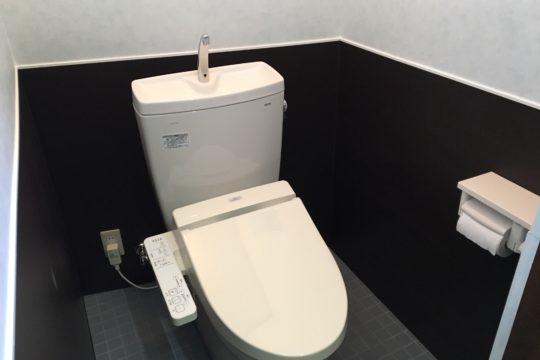 トイレが変わりました!