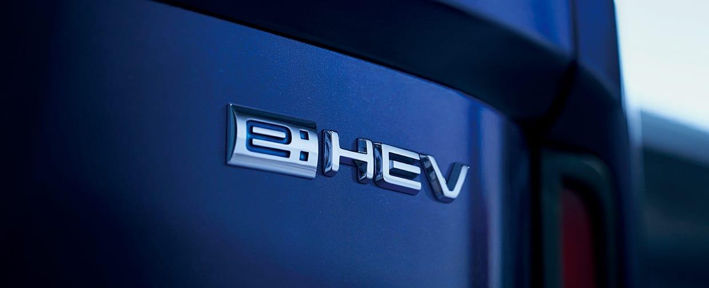 e:HEVエンブレム